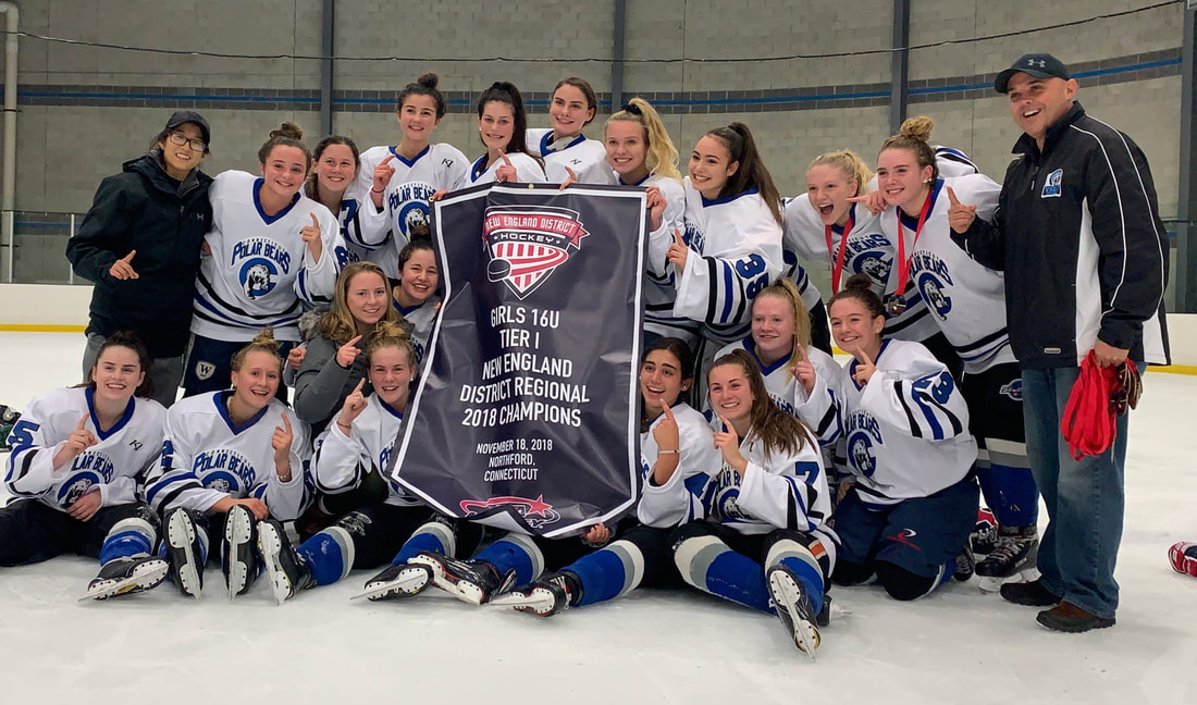 CT Polar Bears U16 Tier I New England Regional Champions